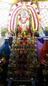 Dussehra at a Bengaluru temple