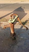 Hand pump somewhere in Thirukadaiyur