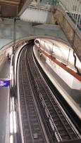 A metro station in Paris