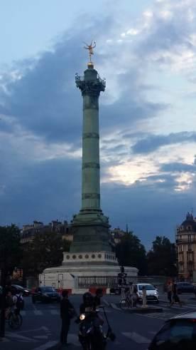 Near Bastille station @ Paris