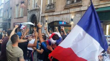 Celebrating French Victory