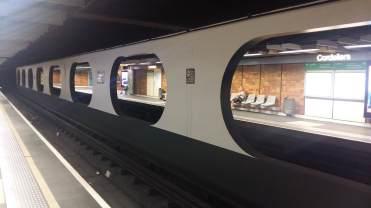 A metro station in Lyon
